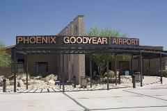 Phoenix Goodyear Airport building entrance