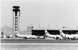 In 1976, when 4.4 million people flew in and out of the Airport, construction began on Terminal 3 and its parking garage. After Terminal 3 opened in 1979, passenger traffic grew to 7 million.
