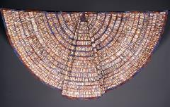cape made with paper beads