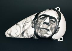 JC Mason, Frankenstein Gas Tank, 2015, airbrush on metalPR
