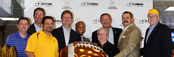 College Football Playoff National Championship Countdown Clock Unveiling