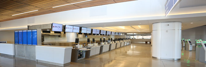Terminal 3 New Ticket Counters