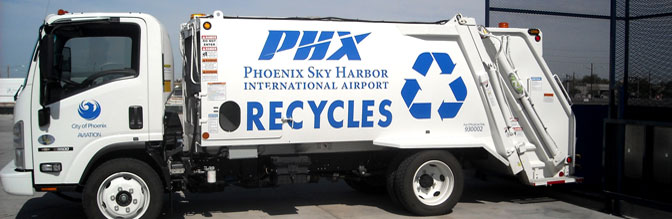 Recycling at Phoenix Sky Harbor
