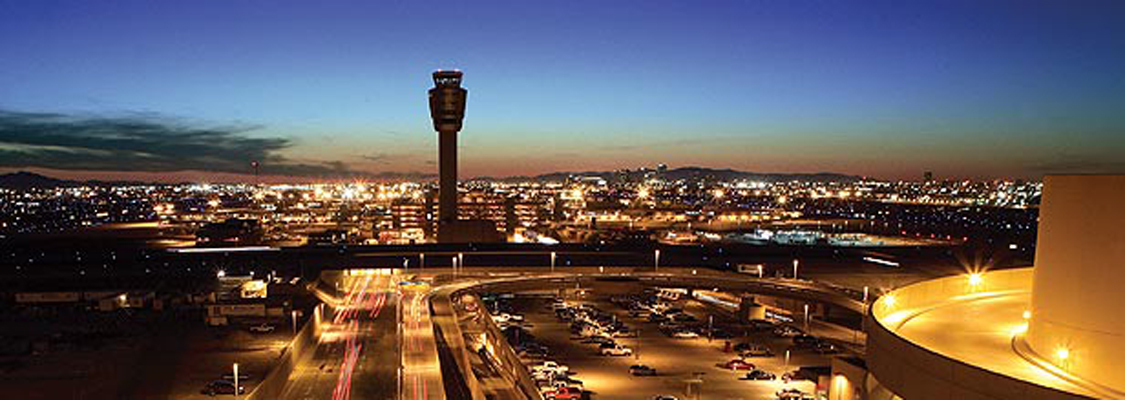 Sky Harbor at Night 2