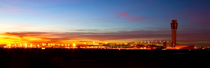Phoenix Sky Harbor International Airport at Night