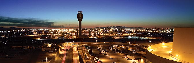 Sky Harbor at Night