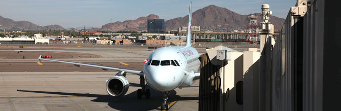 Air Canada at Sky Harbor