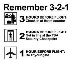 Remember 3-2-1 if you are traveling in for the College Football National Championship