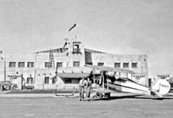Hangar in the 1930s