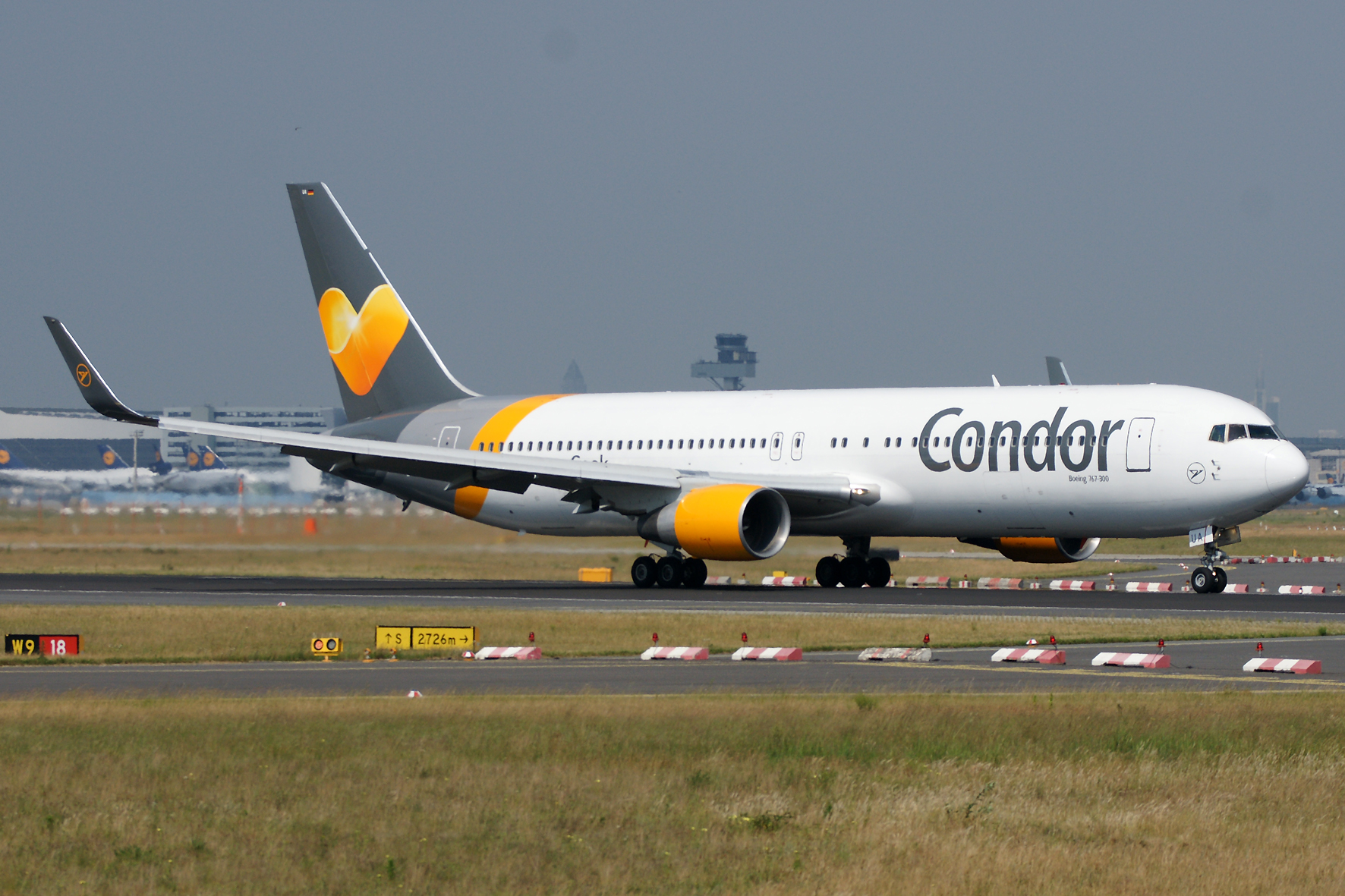 Condor Airlines begins service to Frankfurt in May 2018.