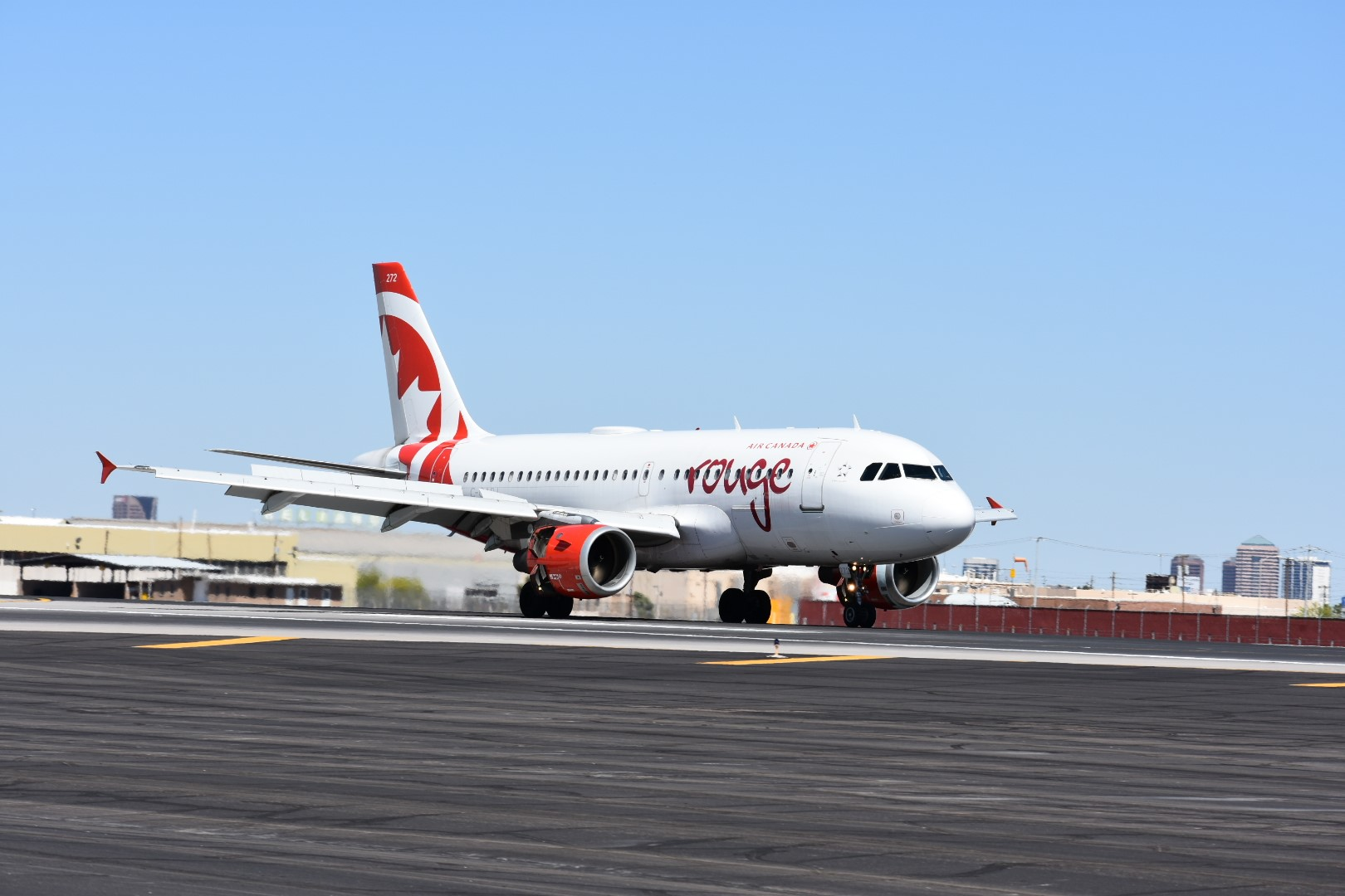 Air Canada Rouge begins offering service to Montreal in February 2018.