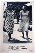 Annie Lopez, Juanita and Lupe Go Shopping, cyanotype