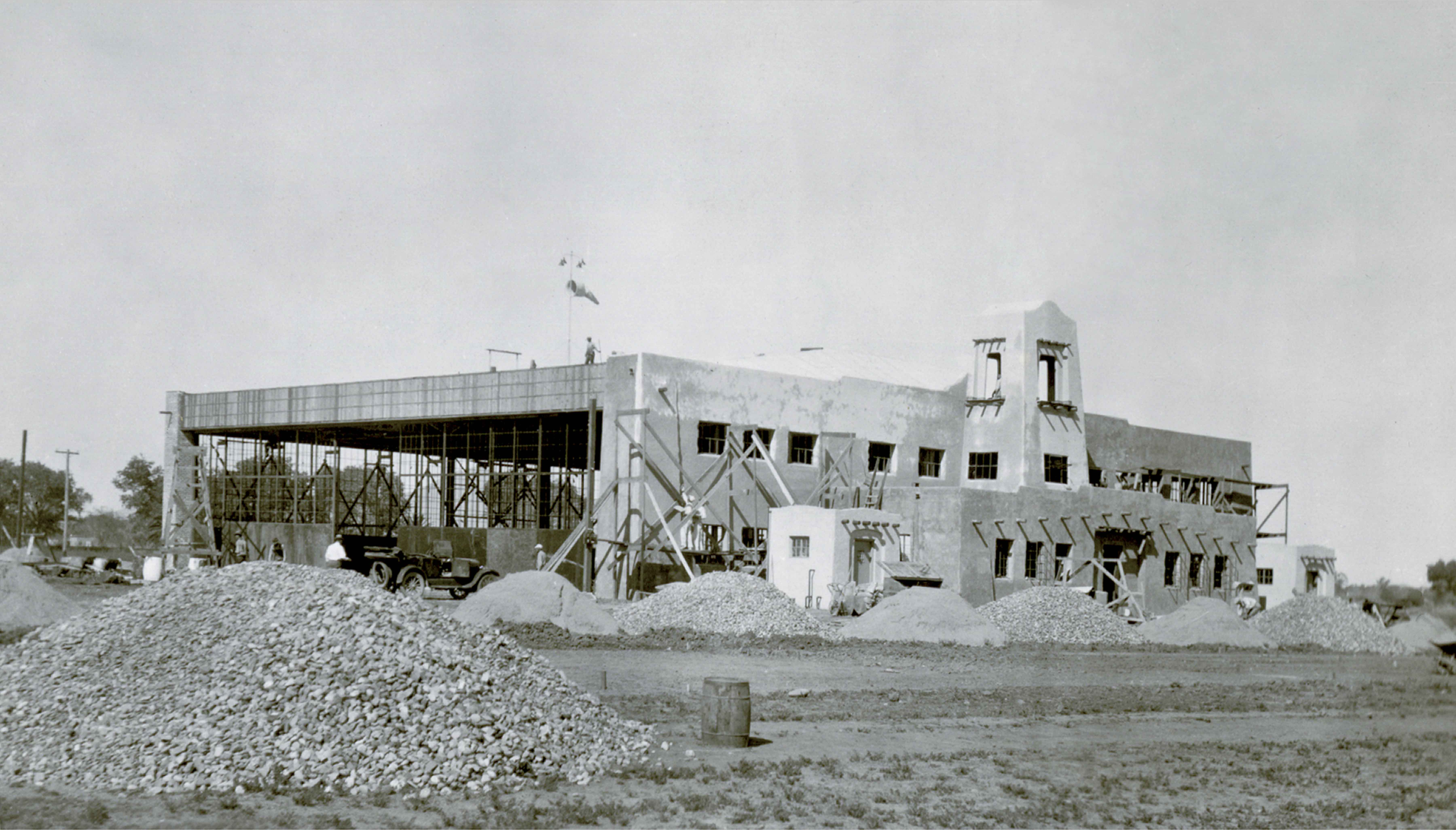 Aviation History Collection image of North Hanger, 1929