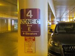 Parking Zone within garage