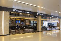 Exterior of The Tavern restaurant in Terminal 3