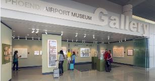 Terminal 3 Airport Museum Gallery on level 4