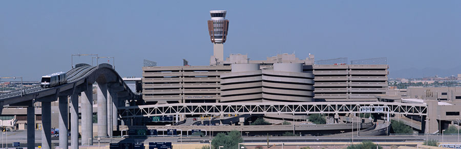 overview of sky harbor