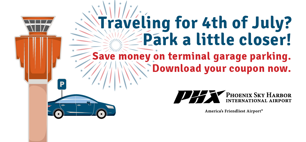Parking coupon July 4