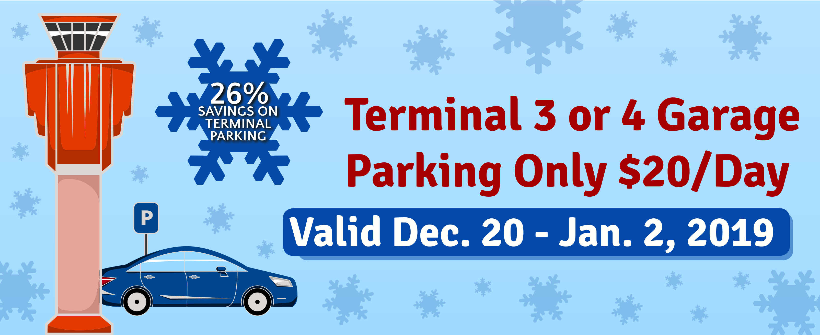 Winter Break Parking Coupon
