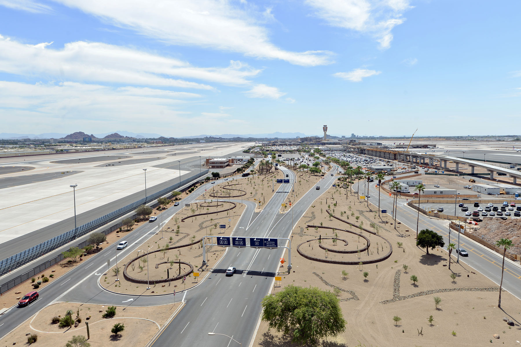 Sky-Harbor-New-Landscaping-Aerial