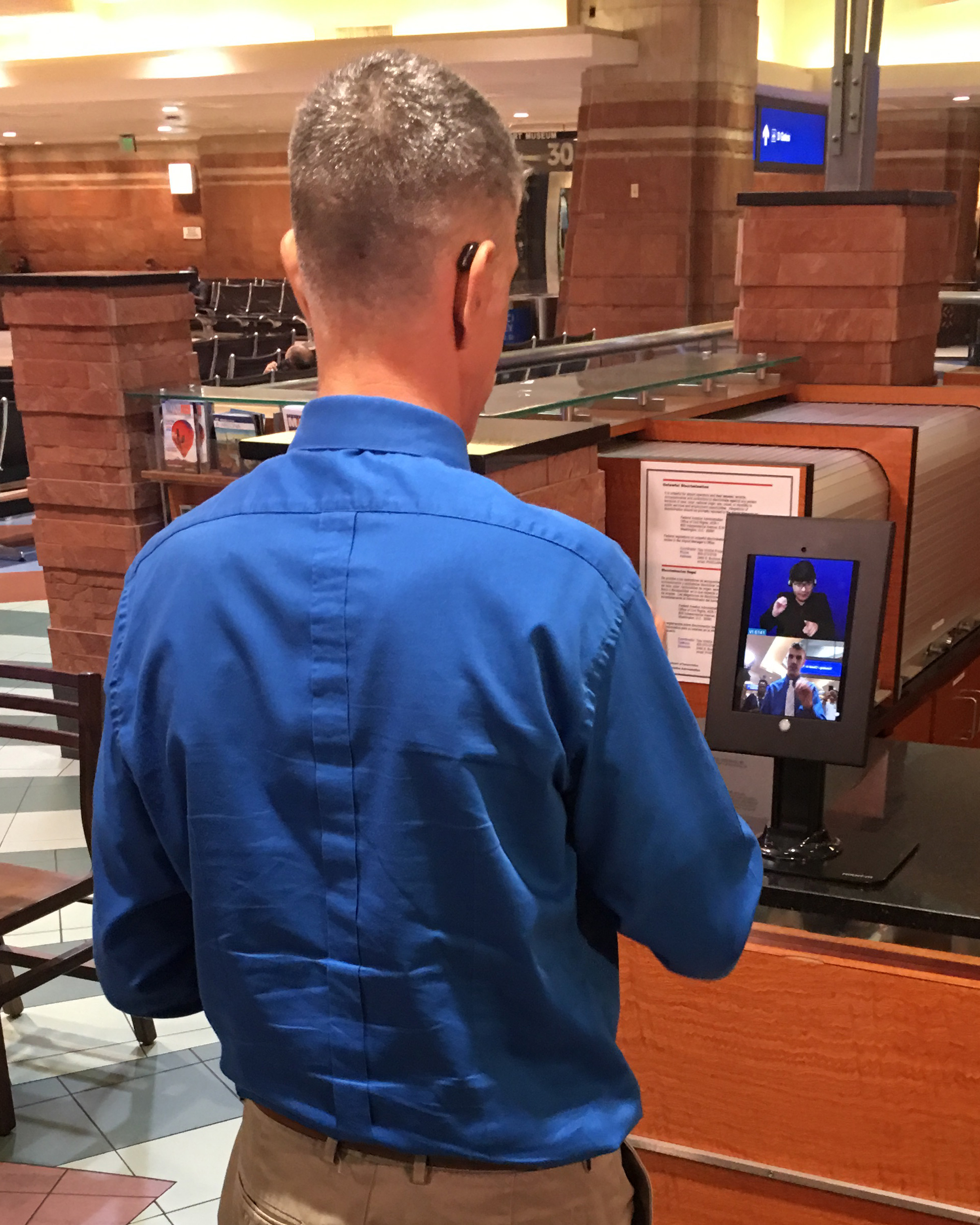 Phoenix Sky Harbor Adds Video Relay Service Vrs To Assist Deaf Terminal Transportation Hard Of Hearing And Speech Challenged Travelers