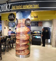 Zookz is a local favorite whose specialties are grilled sandwiches, perfect for eating on the go.