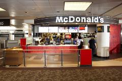 This franchise is among America's most recognizable brands. The golden arches have been creating history since its founding in 1955. Enjoy breakfast specialties such as the Egg McMuffin or lunch and dinner favorites such as the Big Mac.