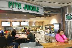 Pita Jungle serves breakfast and lunch or dinner featuring the popular Mediterranean dishes it has been known for since 1994, including a variety of vegetarian, vegan and gluten-free options.