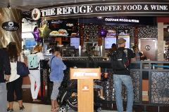 You'll find great coffee, specialty drinks, baked goods, sandwiches, and wine at Press Coffee. Its roasted coffee beans are imported from countries in Africa, Latin America and the Pacific Rim, among others.