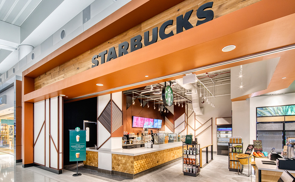 Located inside the Best of the Valley store. In addition to roasting and serving high-quality whole-bean coffees, Starbucks also offers a selection of premium teas, fine pastries and a host of other delectable treats.