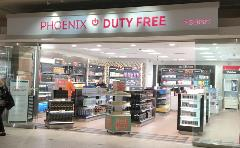 Sky Harbor's first duty-free/duty paid stores. Offering a wide selection of fragrances, gifts, jewelry, liquor, tobacco and travel-related merchandise.