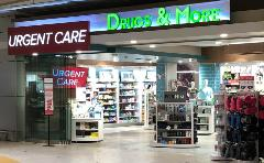 Your airport drug store. Featuring last-minute items for your travels as well as over-the-counter medication.